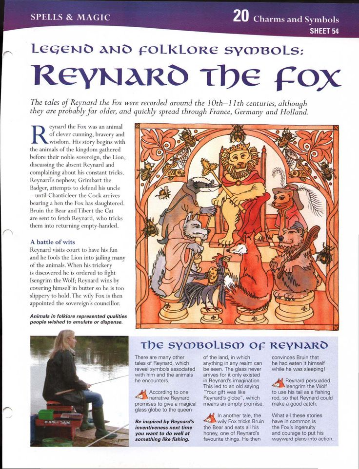 Legend and Folklore Symbols: Reynard the Fox