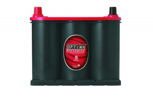 Optima Batteries 8025-160 BATTERY 25 RED TOP Strong Starting Burst. Up to Two Times Longer Life. More than 15 Times the Vibration Resistance. Spillproof, Mountable in Virtually any Position.