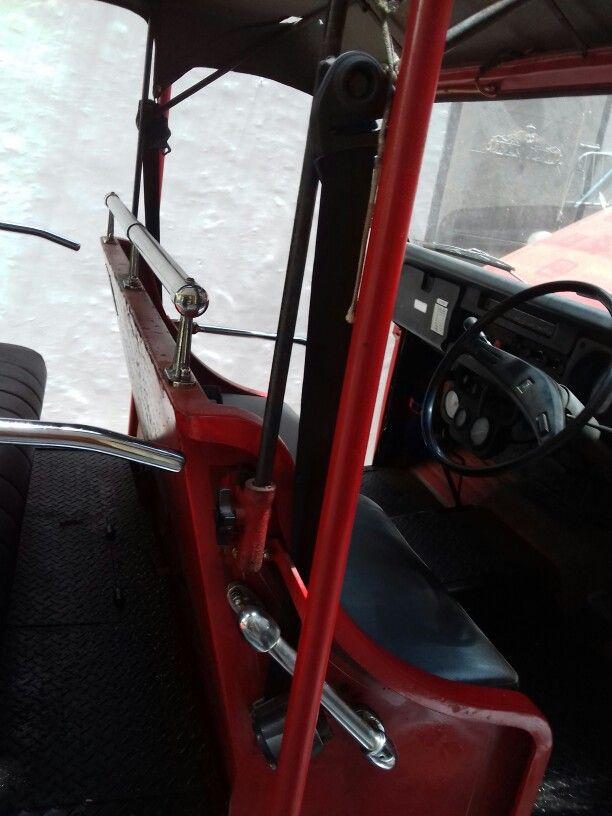 Fj55 fire truck