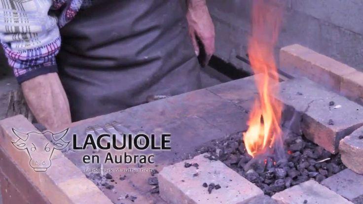 Fabrication des couteaux Laguiole en Aubrac - Reportage - Coutellerie Pa...