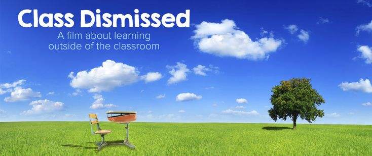 My local homeschool group, ENRICHri will be hosting a showing of the movie Class Dismissed, A film about learning outside the classroom. I was asked to do a review of the film before hand, because as we all know, I tend to be vocal in my opinion.  This film is amazing. If you have even a sliver of