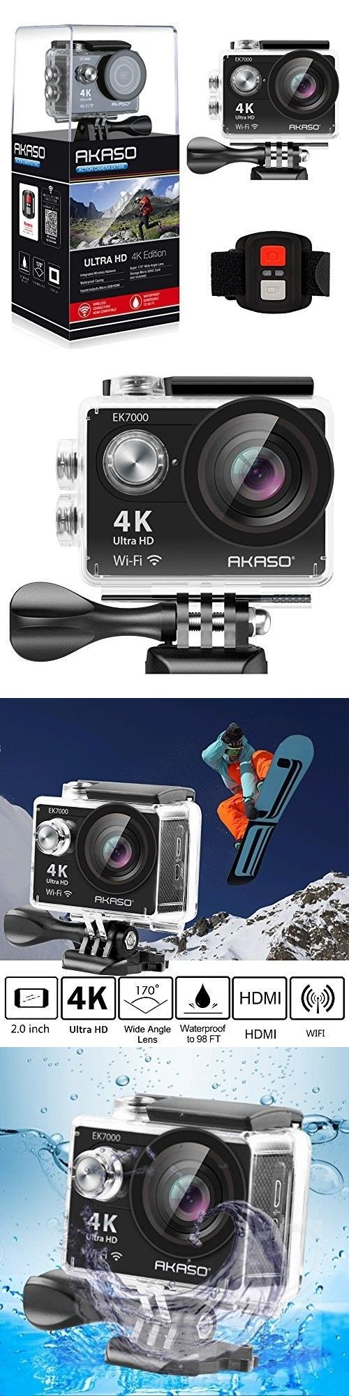Underwater Cameras 180000: Underwater Video Camera Waterproof Full Hd Sports Action Dv Camcorder Fishing -> BUY IT NOW ONLY: $126.08 on eBay!