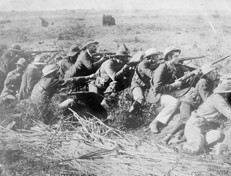 BOER WAR TRENCH - LOOK AT THE YOUNG BOYS!!