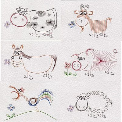 animal | Prick And Stitch Is My Craft