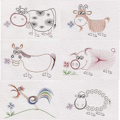 animal   Prick And Stitch Is My Craft