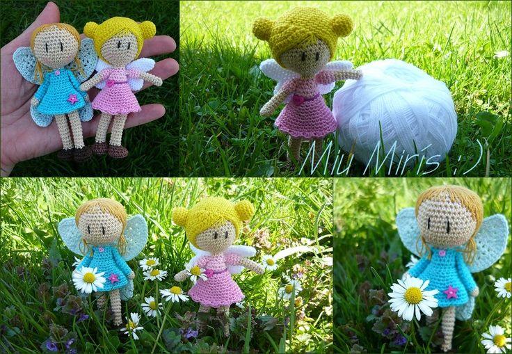 crochet fairy, elf, hakeln fee