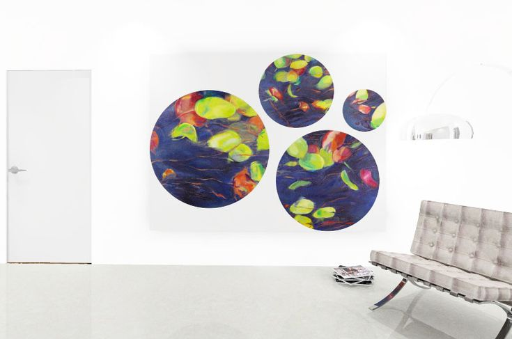 Tanya Sternberg | Calm Lillies I | Buy Original Art For Sale | StateoftheART