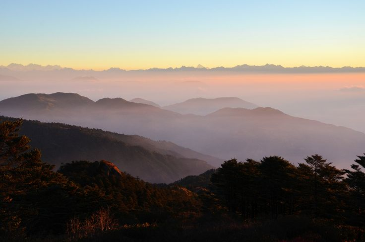 Sunrise at Sandakphu | by pallab seth