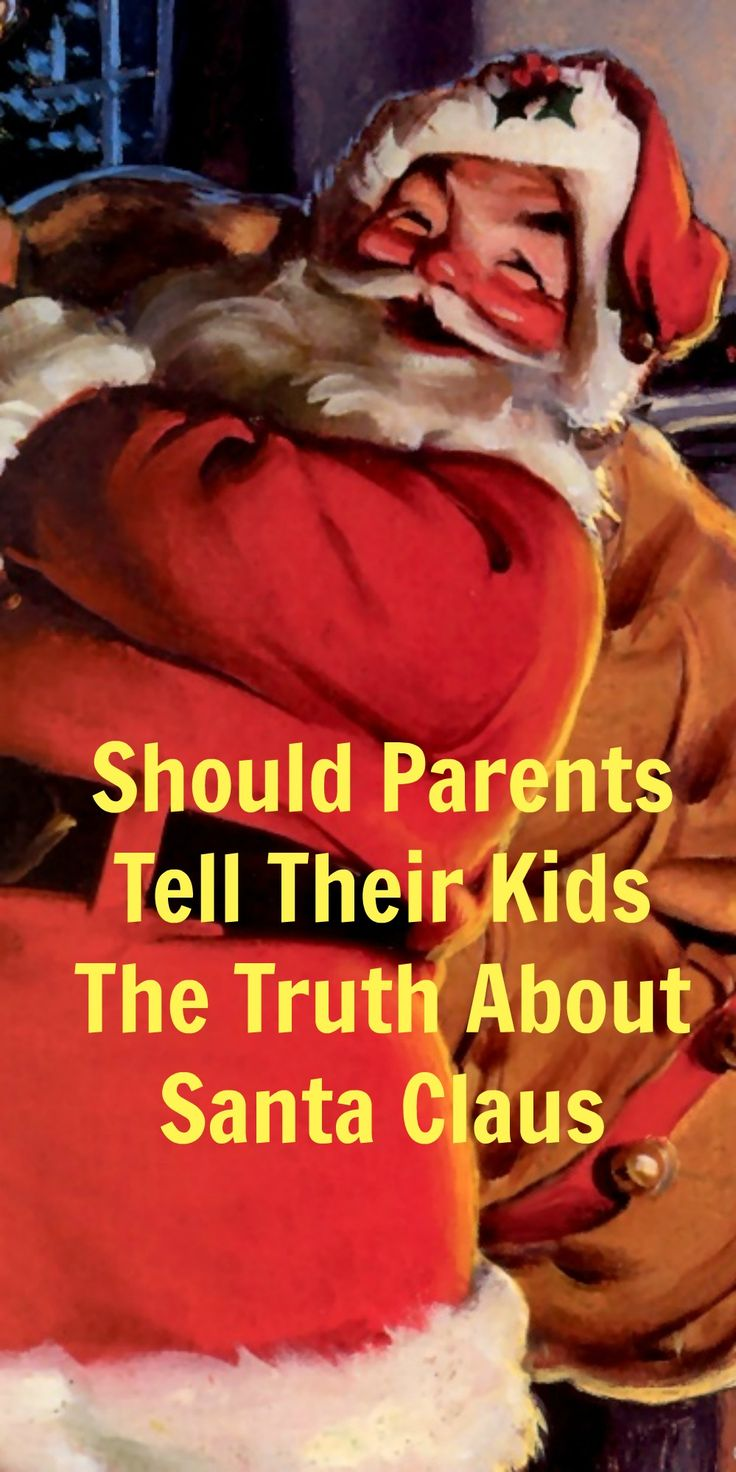 Should Parents Tell Their Kids The Truth About Santa Claus?