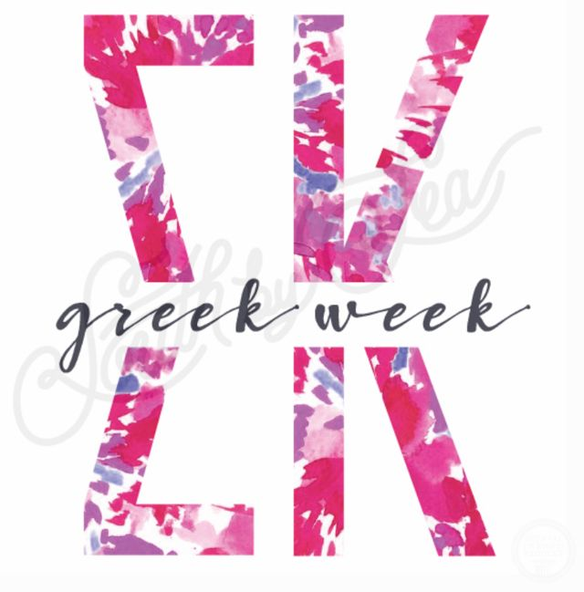 Sigma Kappa | SK | Tie Dye Letters | Greek Week | South by Sea | Greek Tee Shirts | Greek Tank Tops | Custom Apparel Design | Custom Greek Apparel | Sorority Tee Shirts | Sorority Tanks | Sorority Shirt Designs