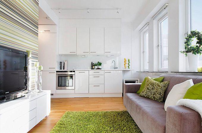 Дизайн квартиры студии - фото интерьеров