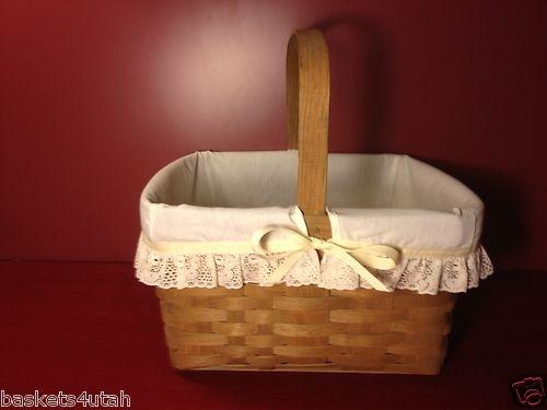 Jw Longaberger Cake Basket