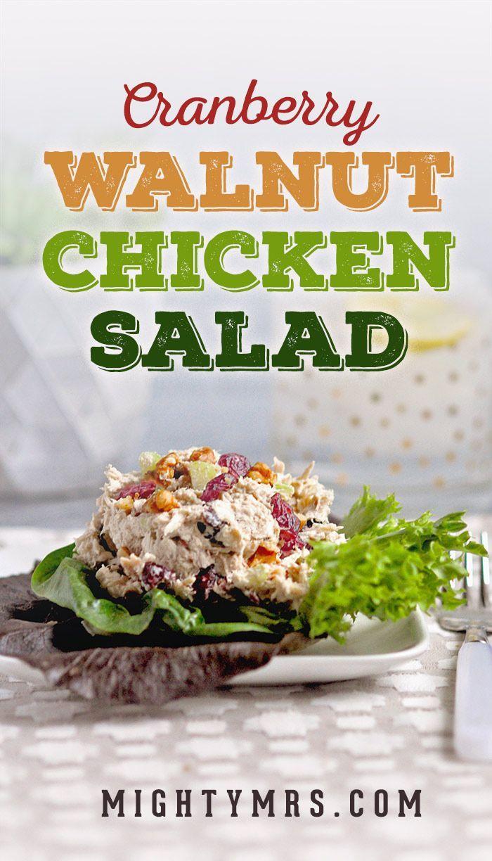 is chicken cranberry salad on keto diet