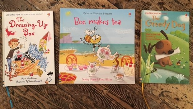 Finding best books for learning to read with Usborne