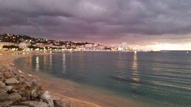 St. Maxime, morning, seaside