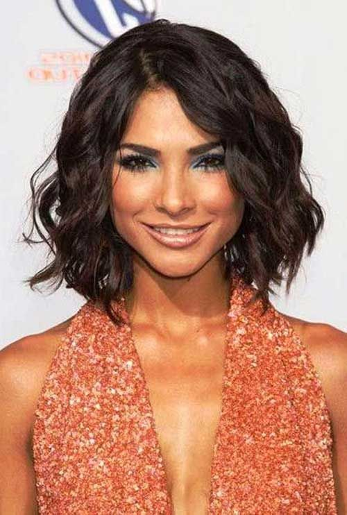 how to style thick hair 15 bob haircuts for thick wavy hair bob hairstyles 2015 1581