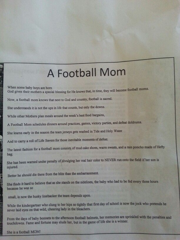 39 best images about Football on Pinterest | Football moms ...