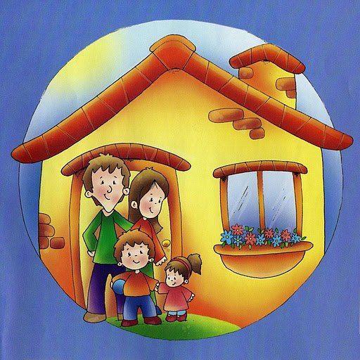 Estudiamos las partes de la casa con estospóstery fichas. Partes de la casa. La cocina, el salón, el baño, el dormitorio. También encontraras cosas que p