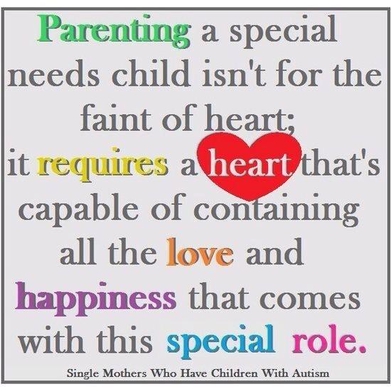 Special needs mom