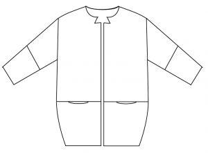 Cocoon Jacket - FREE PATTERN - Step-by-step tutorial