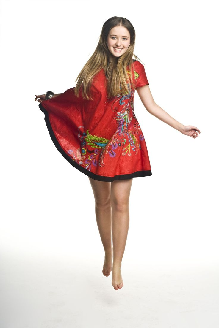 EVA tunic red