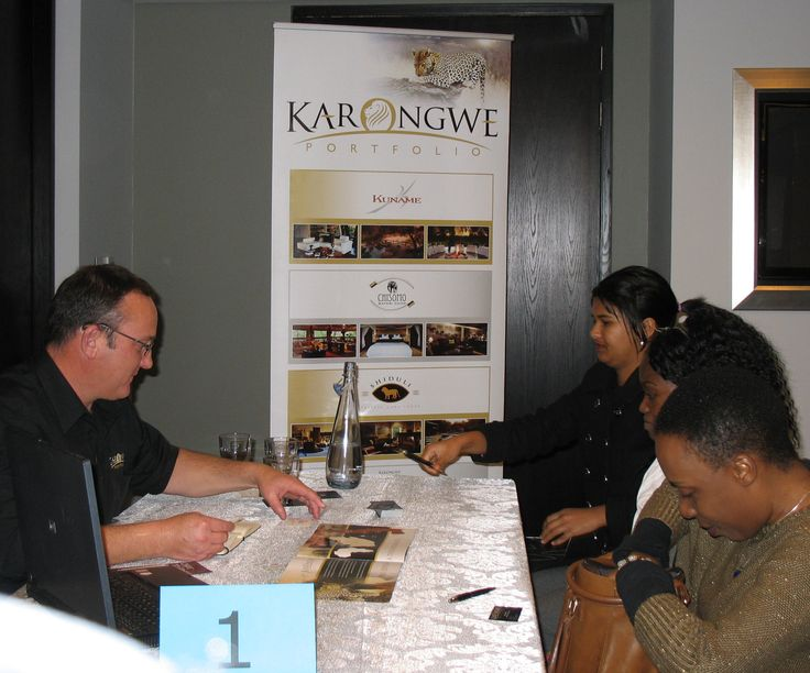 Karongwe Portfolio presenting at our Cape Town Workshop for Travel Agents / Tour Operators on 22 July 2014
