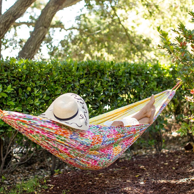 Make This DIY Summertime Hammock for National Hammock Day via Brit + Co