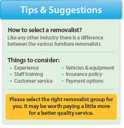 Furniture removals quotes Brisbane |removalists Melbourne |removals Sydney |Moving Select Australia