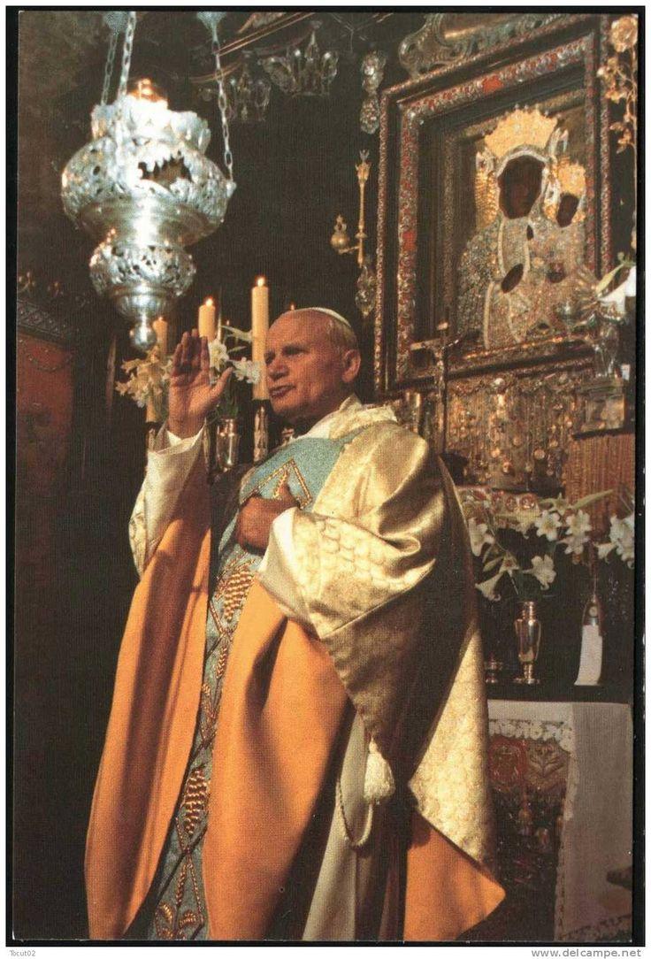 St John Paul II at Częstochowa