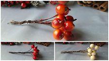 10х ягоды / грозди ягод проводной - рождественские венки, гирлянды. ПОДЕЛКИ, ВЫПЕЧКА