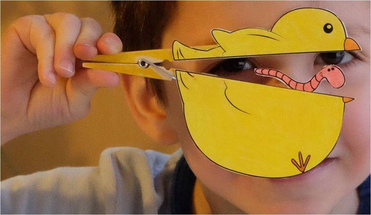 Bricolages créatifs de Pâques avec les enfants  Bricolage et ...