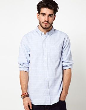 Penfield Striped Shirt in Oxford Cotton