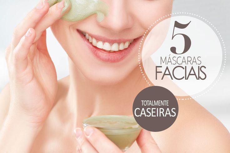 Top 5 máscaras faciais caseiras que vão deixar sua pele livre de rugas e imperfeições