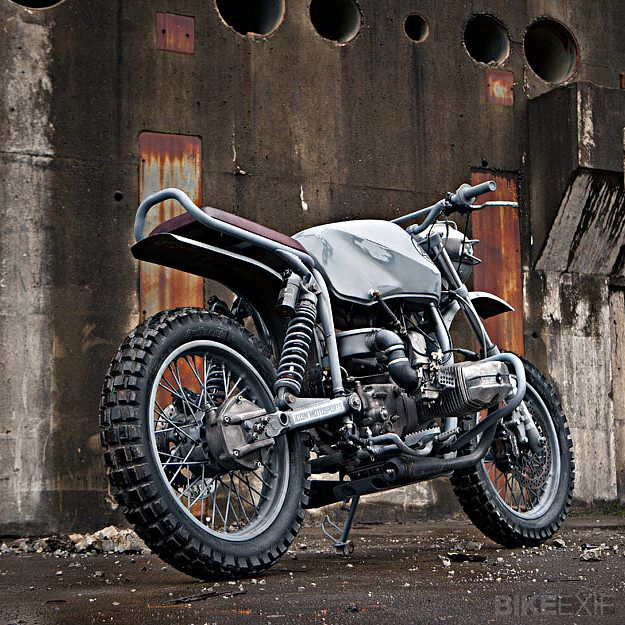 "Ural Solo sT custom motorcycle named ""Quartermaster"" made by Icon 1000"