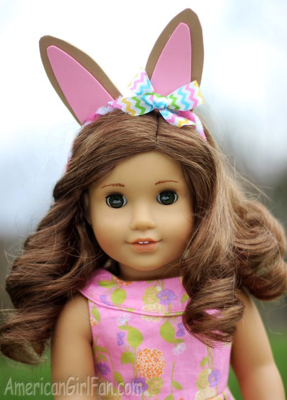 How Cute Is This American Girl Doll Easter Bunny Ears