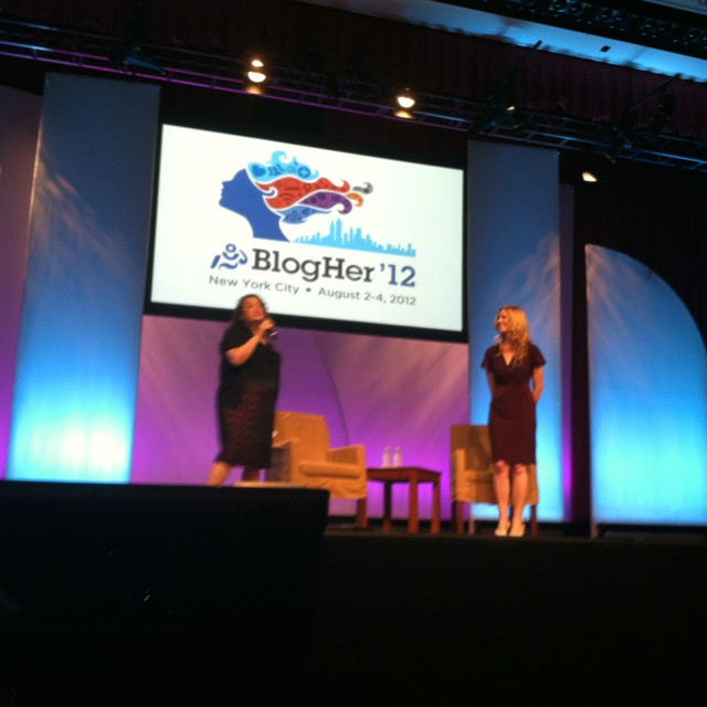 First day of #BlogHer12