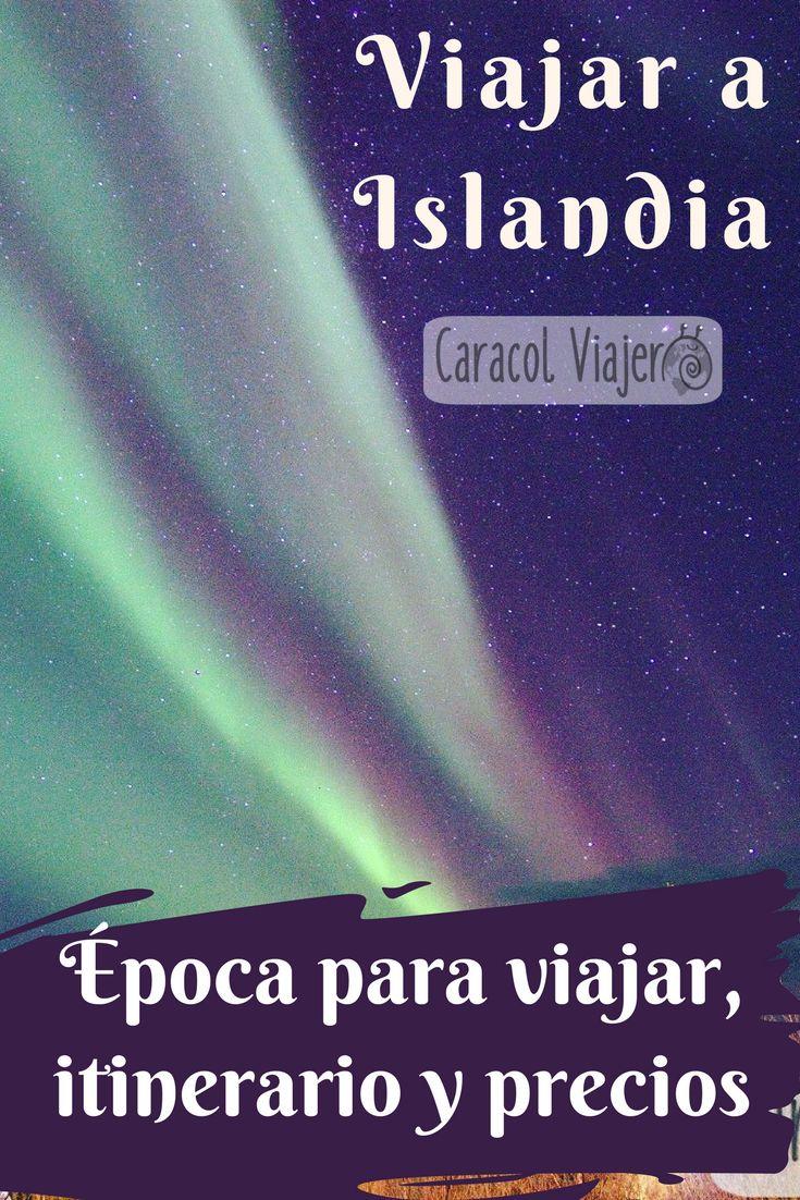 Nos vamos a viajar a Islandia en plan económico, viajes a ver auroras boreales, épocas, itinerarios y precios. #viajes #islandia #barato