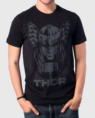 This rare Thor print with his hammer, depicts a chilling portrayal of the superhero known for his strength and might. A keepsake! Shop Now: http://voxpopclothing.com/thor/MATH0003MBK