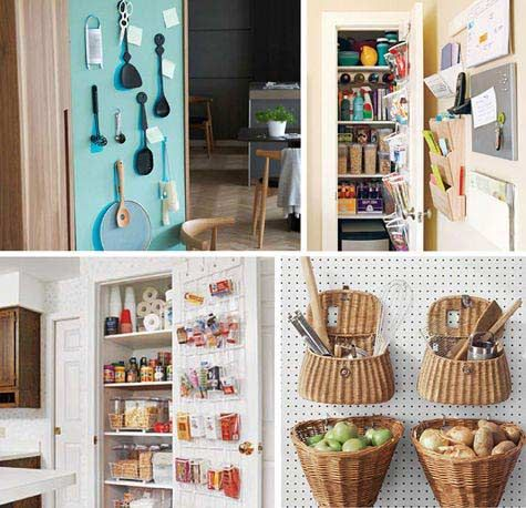 Small Apartment Kitchen Storage Magnificent 238 Best Small Kitchen Inspiration Images On Pinterest  Small 2017
