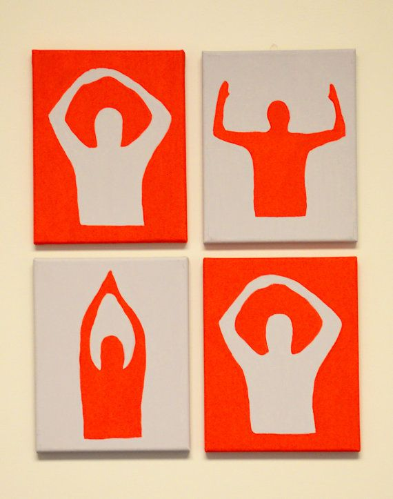O-H-I-O Ohio State Canvas Art Painting by CLinDesigns on Etsy