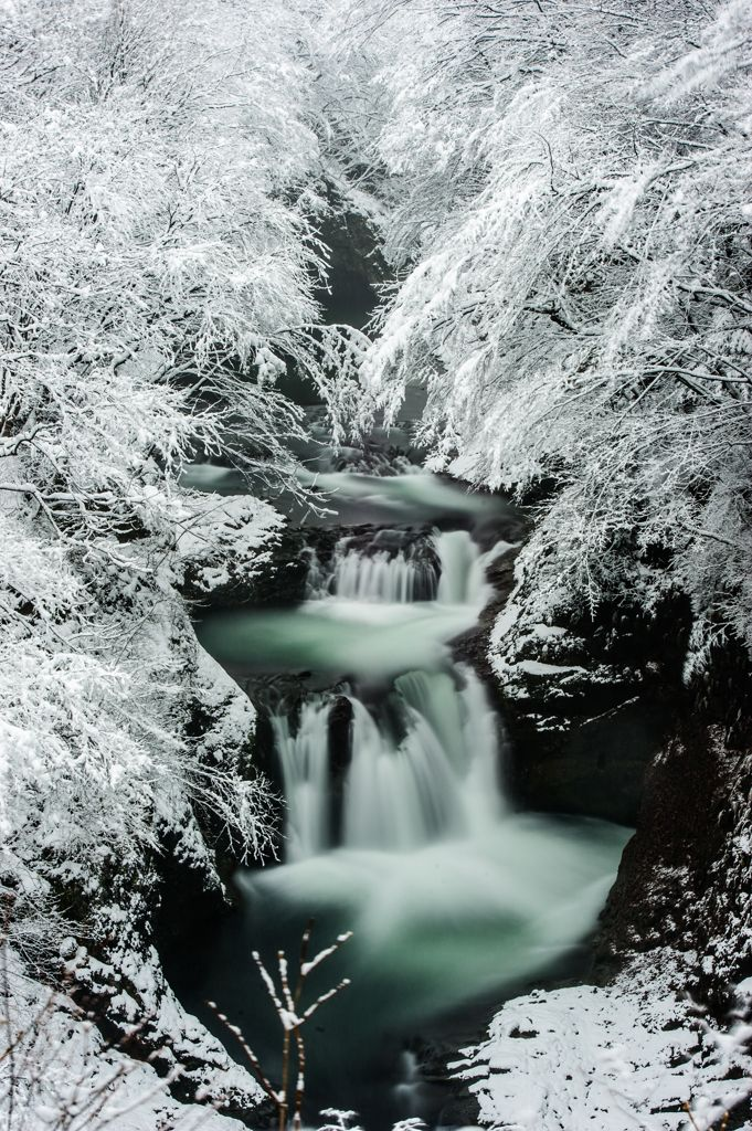 Homei Shijuhachi-taki Falls, Sendai, Japan 鳳鳴四十八滝