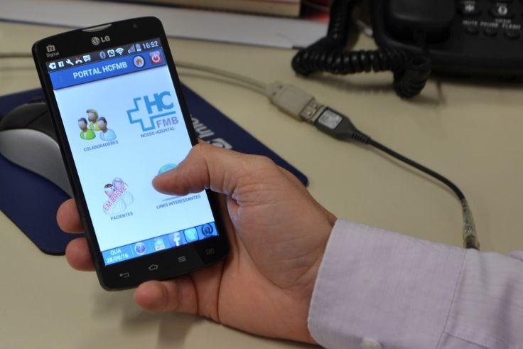 Mobile HCFMB: tecnologia a favor da assistência - Aplicativo atende públicos interno e externo do HCFMB com serviços de utilidade pública   O Centro de Informática Médica (CIMED) do Hospital das Clínicas da Faculdade de Medicina de Botucatu (HCFMB) lançou recentemente o Portal Mobile HCFMB, um aplicativo para smartphones que oferece diversas ut - http://acontecebotucatu.com.br/saude/mobile-hcfmb-tecnologia-favor-da-assistencia/