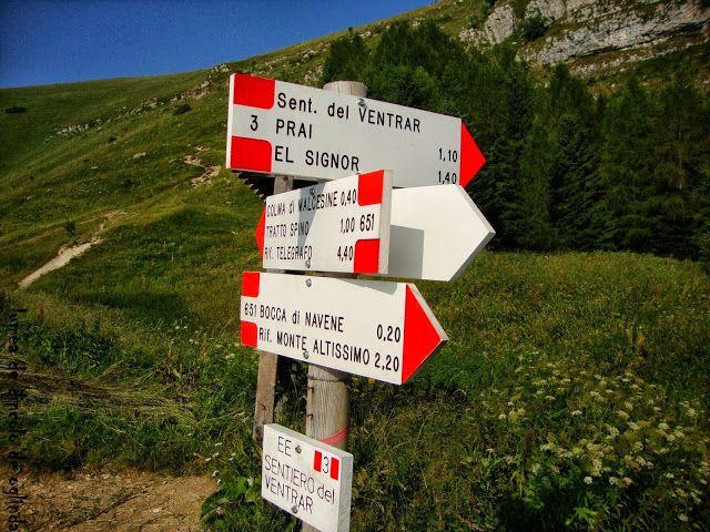 Lumea de dincolo de oglinda: il sentiero del Ventrar su monte Baldo...