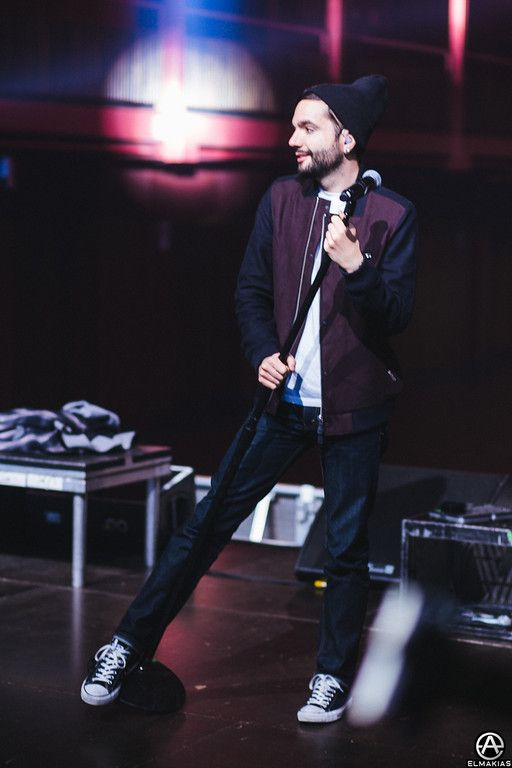 Jeremy McKinnon sound check in Brussels, Belgium. full set- http://adamelmakias.com/travel/europe-uk-2014-with-a-day-to-remember/
