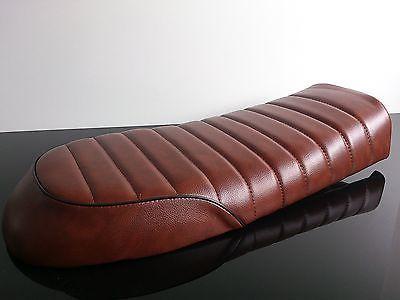 Cafe-Racer-SITZBANK-Seat-BENCH-Selle-Banco-BANC-vintage-braun-brown-UNIVERSAL