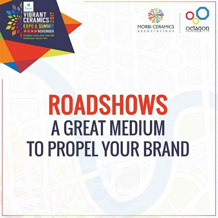 #VibrantCeramics Expo & Summit 2017 will be strategically marketed through a comprehensive schedule of national and #InternationalRoadshows to generate more awarness and impact. Roadshows for #VCES2017 will be conducted in nearly 35 Countries across the global and 100 Smart cities of #India. #FloorTiles #WallTile #VCES2017