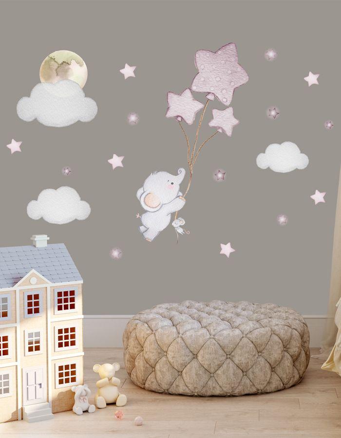 Babyzimmer Wandtattoo