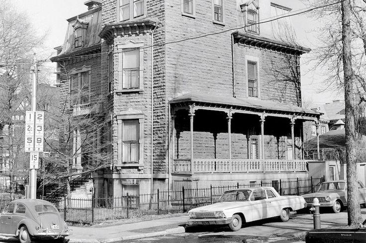 La maison Cyrille-Duquet en 1965