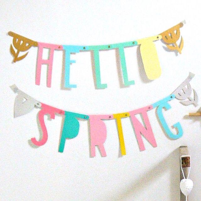 Guirnalda primavera