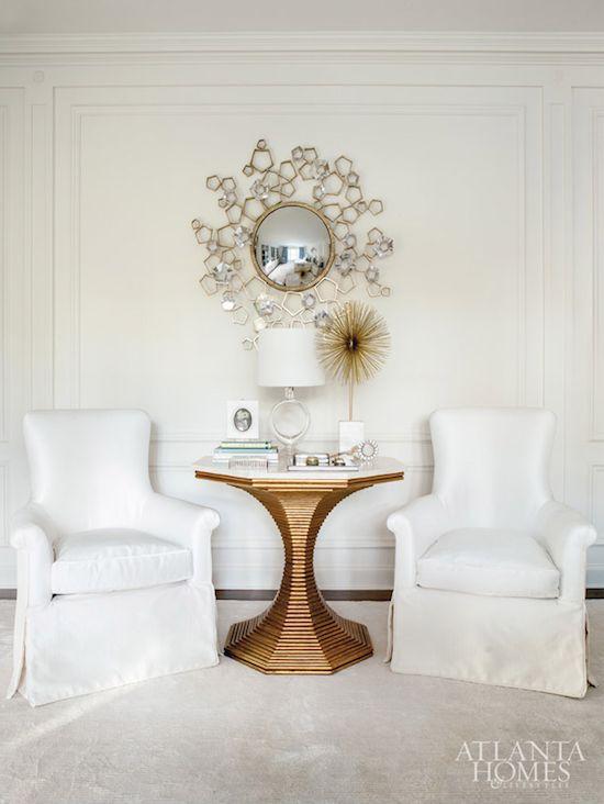 Thomas Pheasant For Baker Furniture Blossom Mirror Atlanta HomesBedroom InteriorsWhite